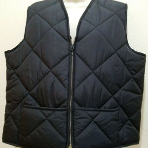 Jones New York Quilted Puffer Vest Petite Large
